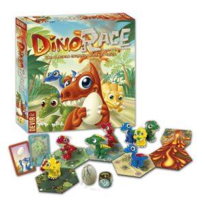 caja y componentes Dino Race