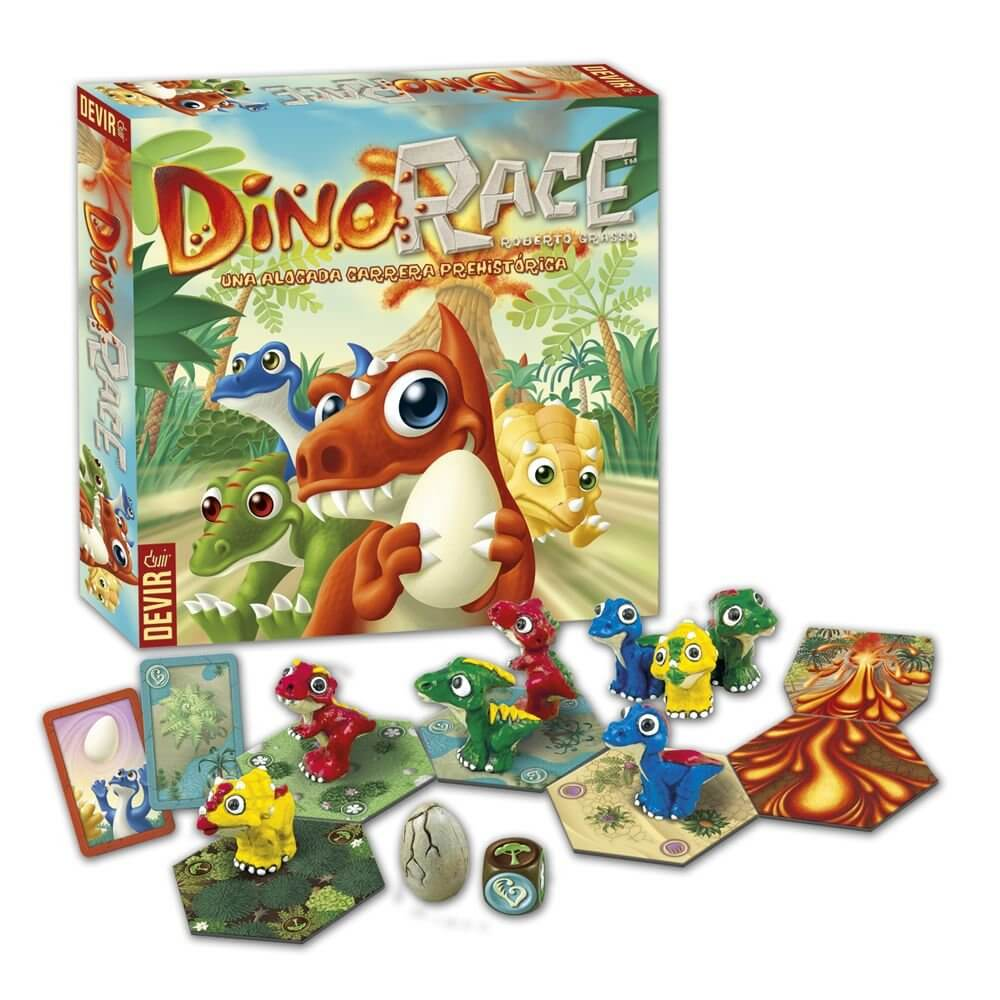 jugando a Baby Dino