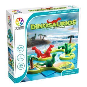 caja Dinosaurios Islas Misteriosas lógica smart games lúdilo