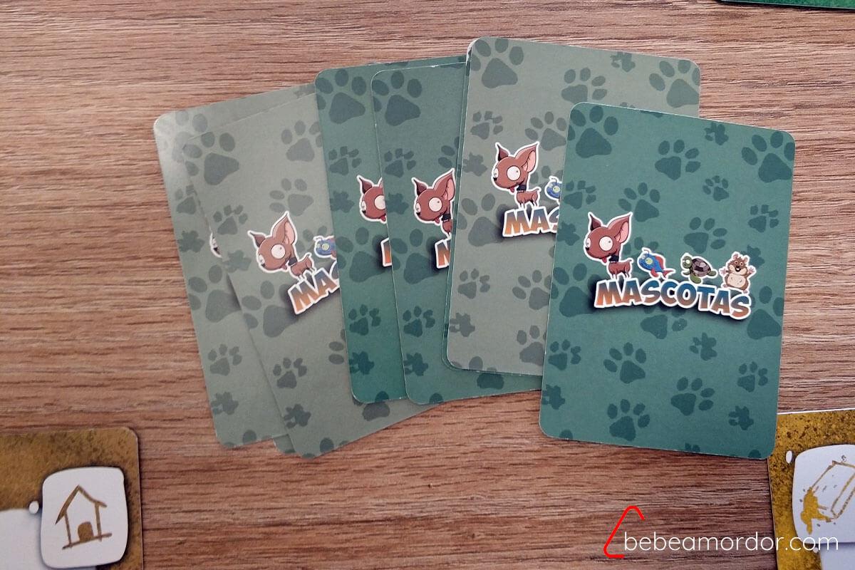 reverso de cartas verdes
