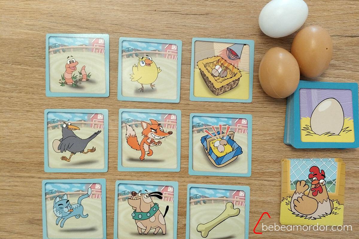 cartas del juego de mesa Co-Co-Pio