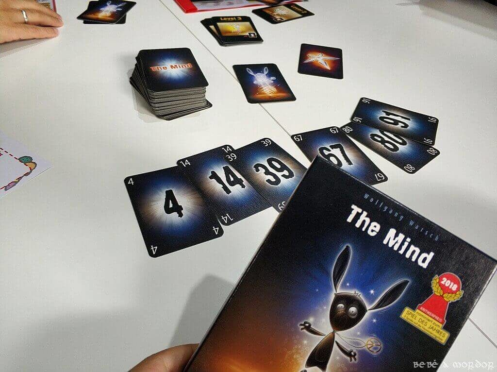 juego de mesa The Mind de Mercurio