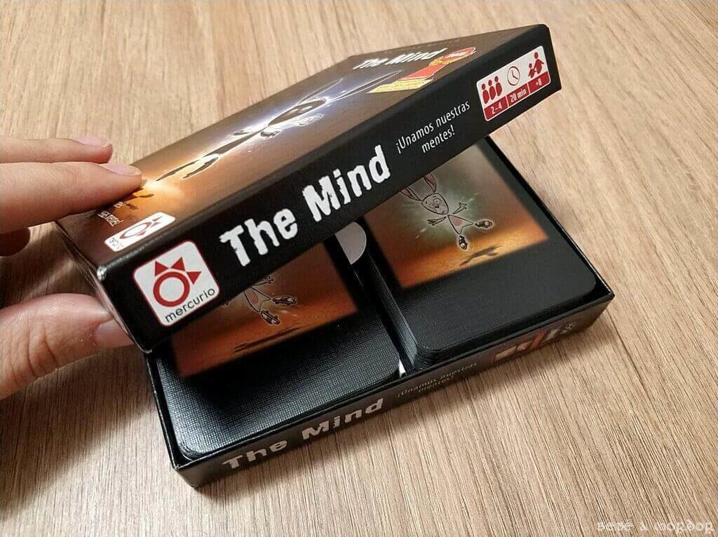 caja The Mind tamaño juego