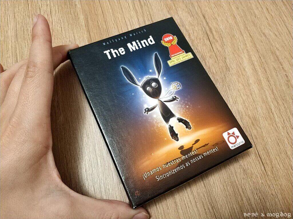 tamaño caja juego de mesa The Mind