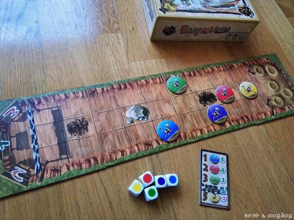 simplificar juego de mesa Banjooli Xeet