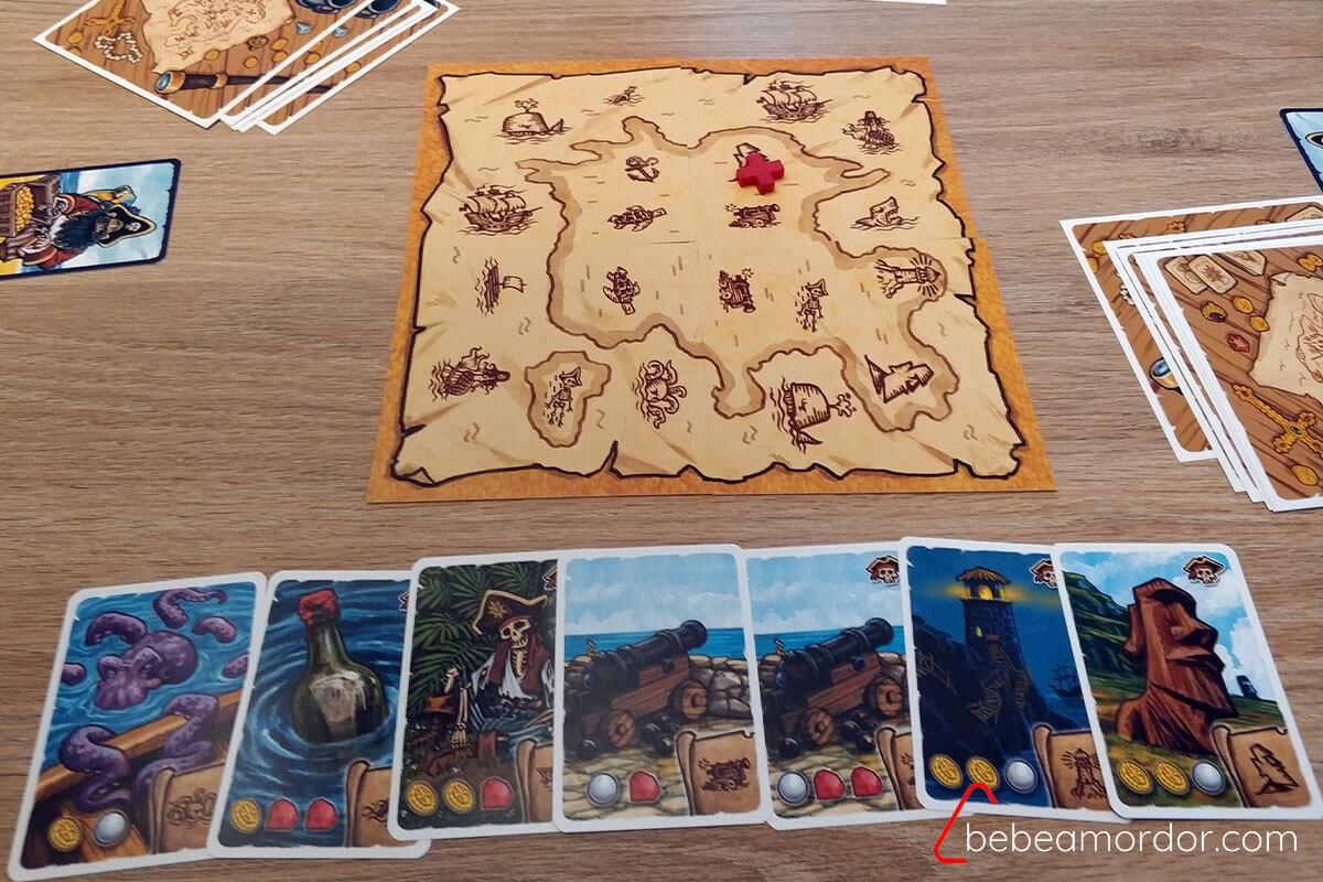 El Mapa del Pirata reconstruido