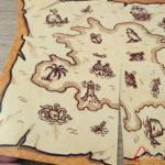duelo: colocando todas las cartas de mapa una persona