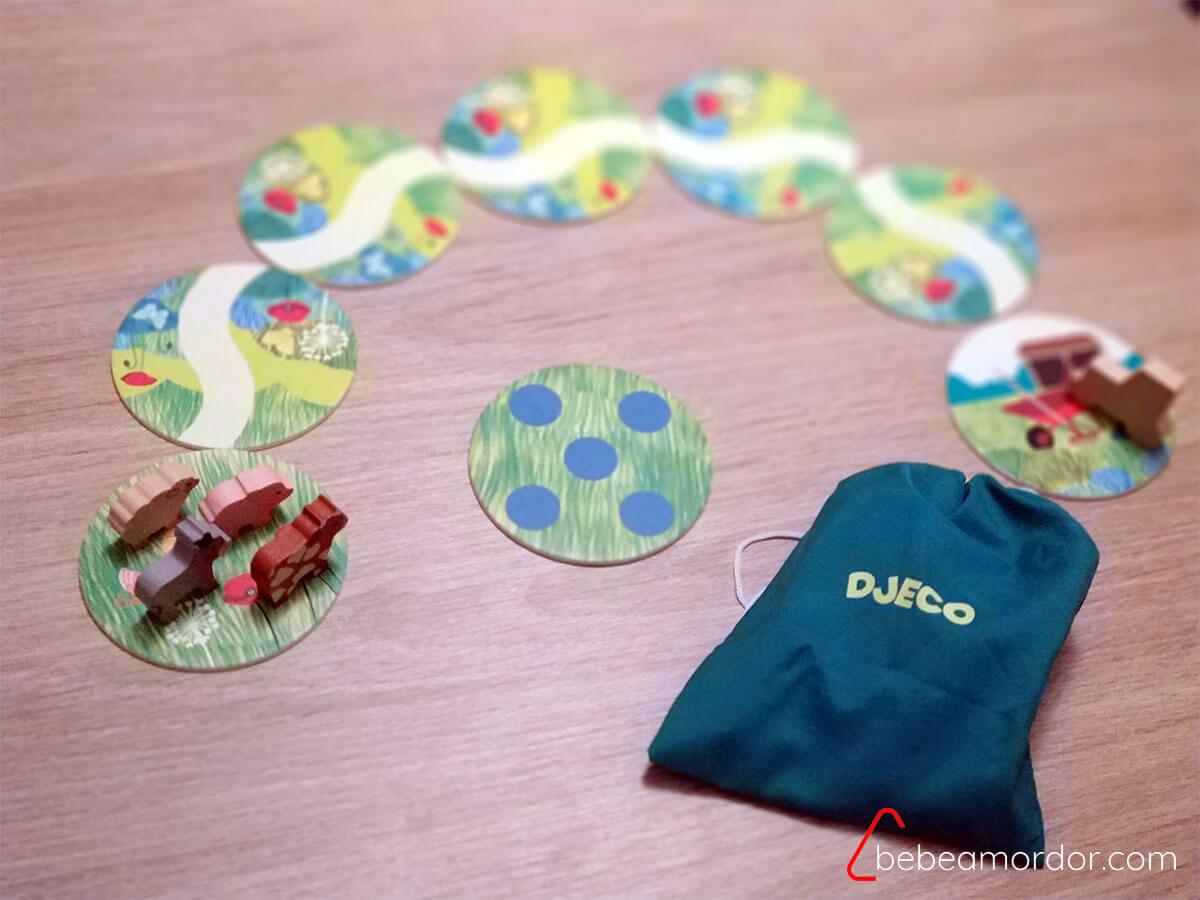 preparación juego de mesa Farmanimo