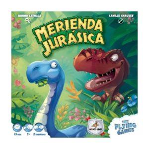 portada juego de mesa Merienda Jurásica Maldito Games
