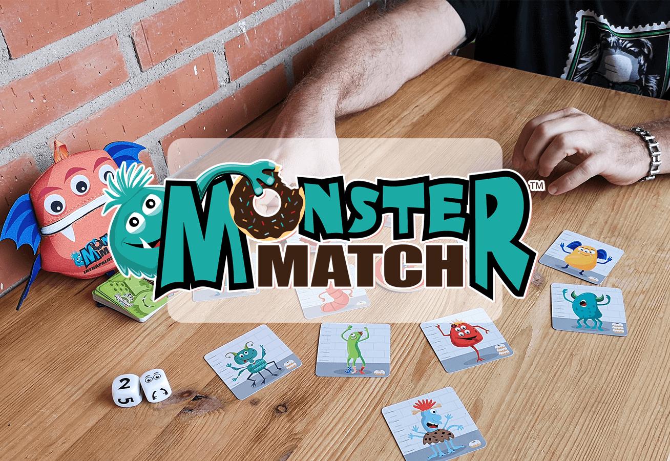 Juego de mesa Monster Match