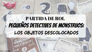 Partida de rol Pequeños Detectives de Monstruos en vivo