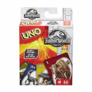 caja UNO Jurassic World