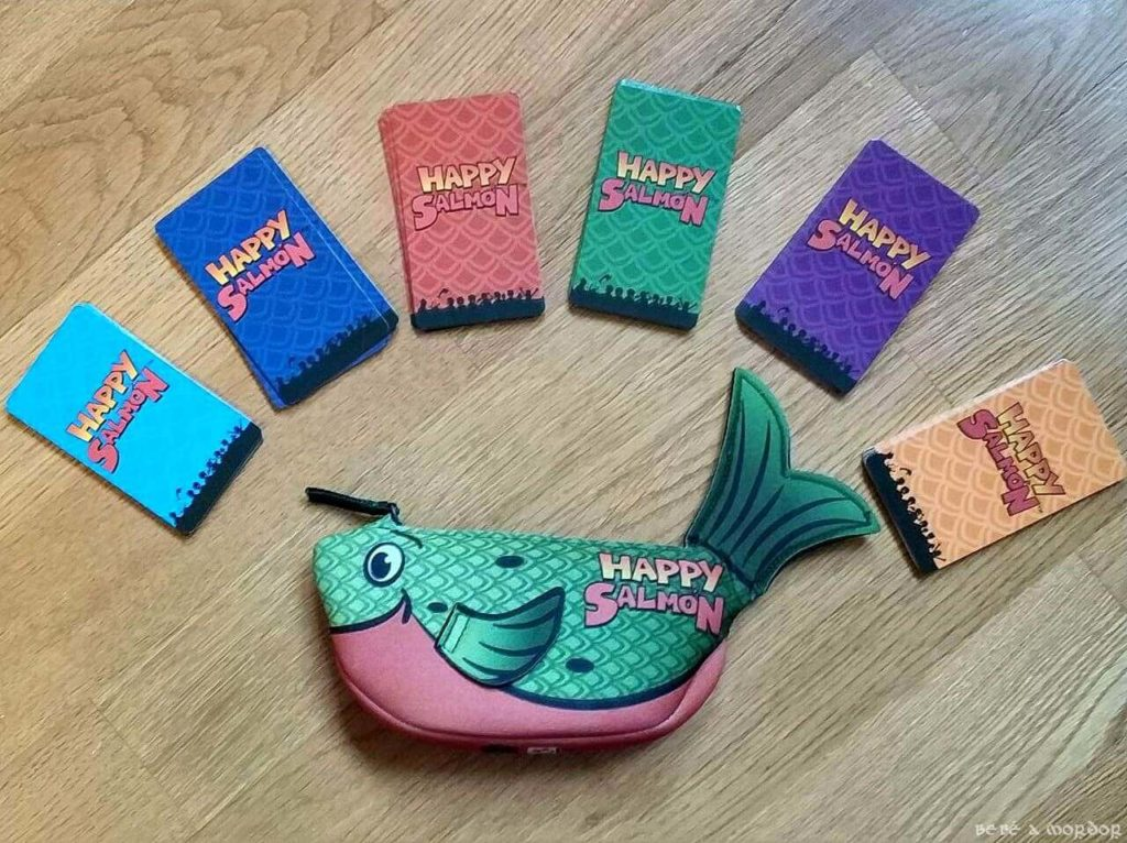 anverso cartas juego de mesa Happy Salmon(