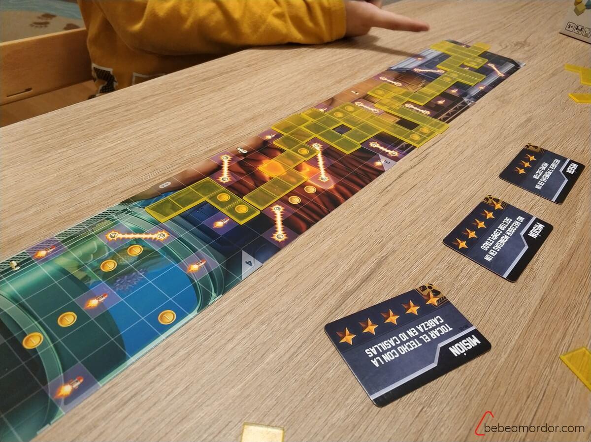 del videojuego al juego de mesa Jetpack Joyride