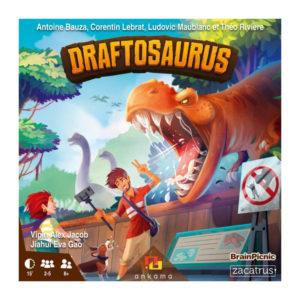 portada Draftosaurus Zacatrus Brain Picnic
