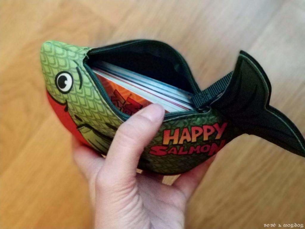 estuche juego de mesa Happy Salmon