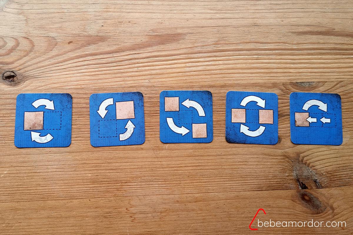 cartas azules