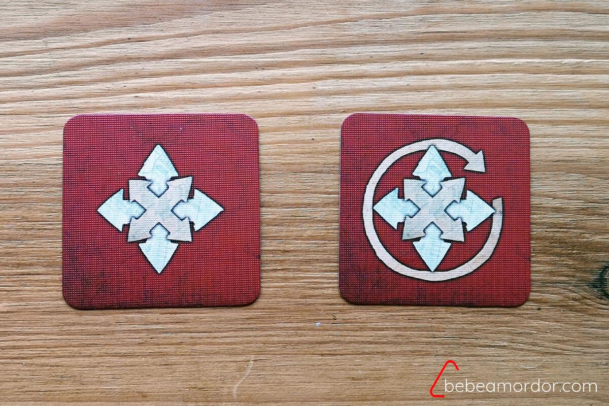 cartas rojas
