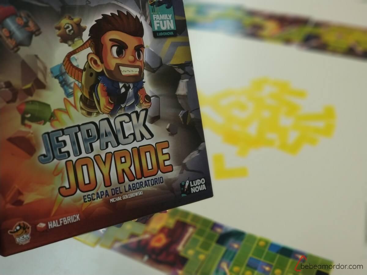 juego de mesa jetpack joyride
