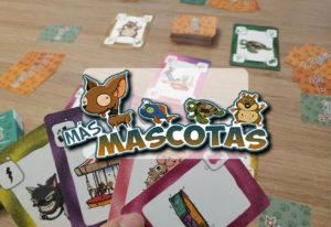 portada reseña juego de mesa MÁS MASCOTAS