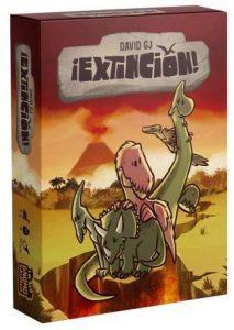 portada juego de mesa Extinción