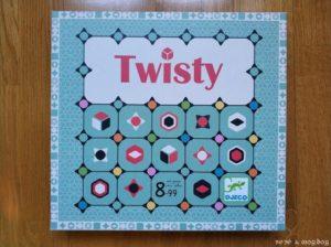 portada juego de mesa Twisty de Djeco