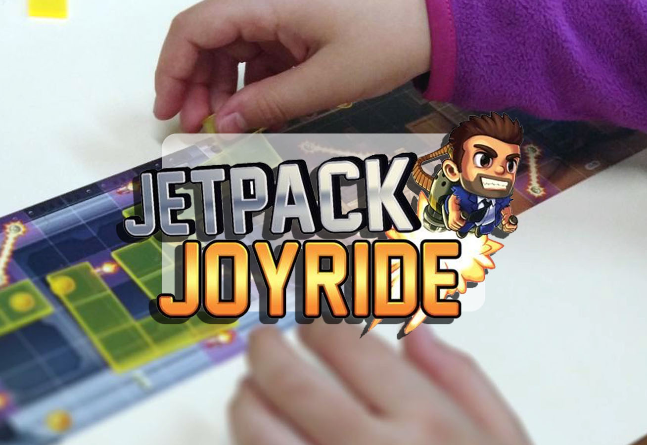 portada juego de mesa jetpack joyride