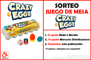 Crazy Eggz sorteo FB