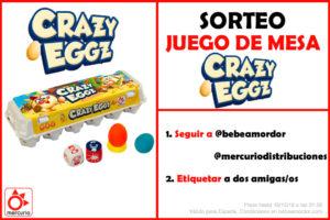 Crazy Eggz sorteo IG
