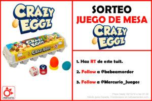 Crazy Eggz sorteo TW