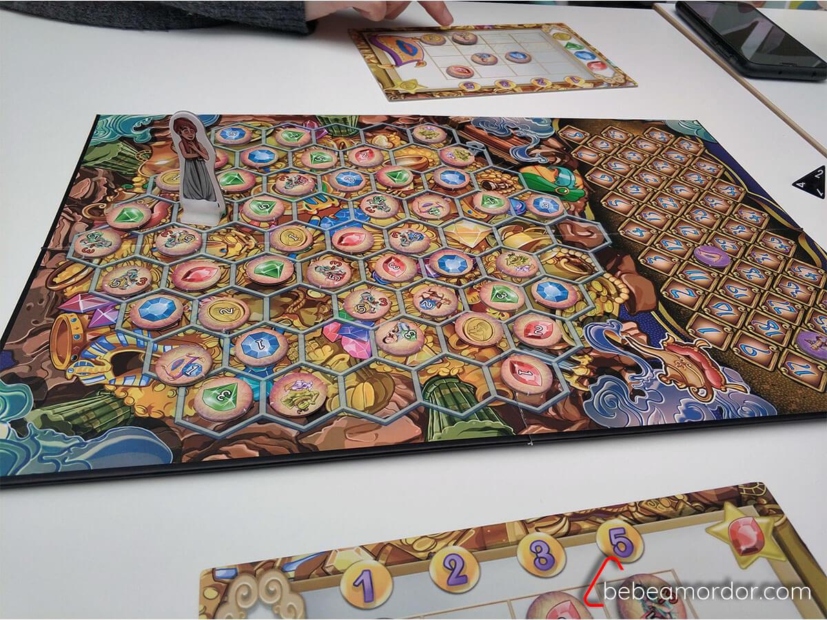 partida al juego de mesa Aladino habilidades y competencias