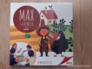 caja juego de mesa Max Farmer