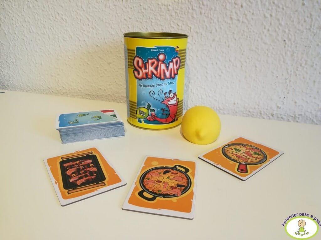 juego completo Shrimp con limón