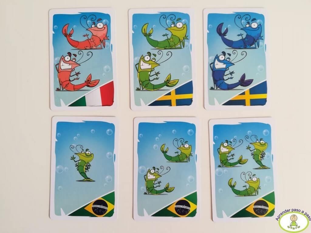 características gambas juego de mesa Shrimp 1