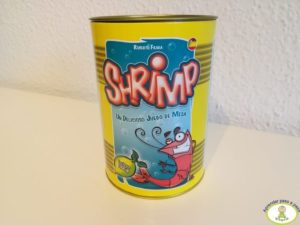 bote juego de mesa Shrimp packaging original Mercurio