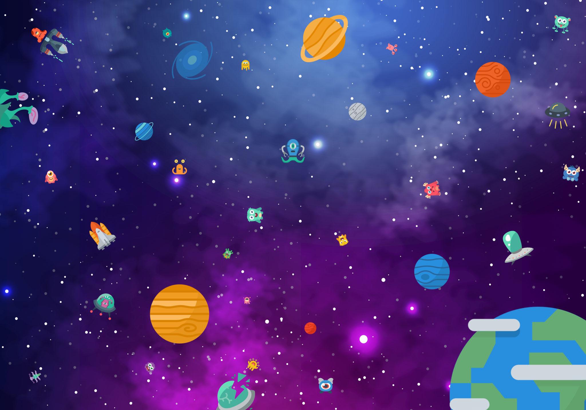 juego de mesa gigante hule espacial