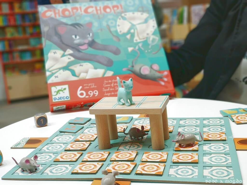 juego de mesa Chop Chop y caja