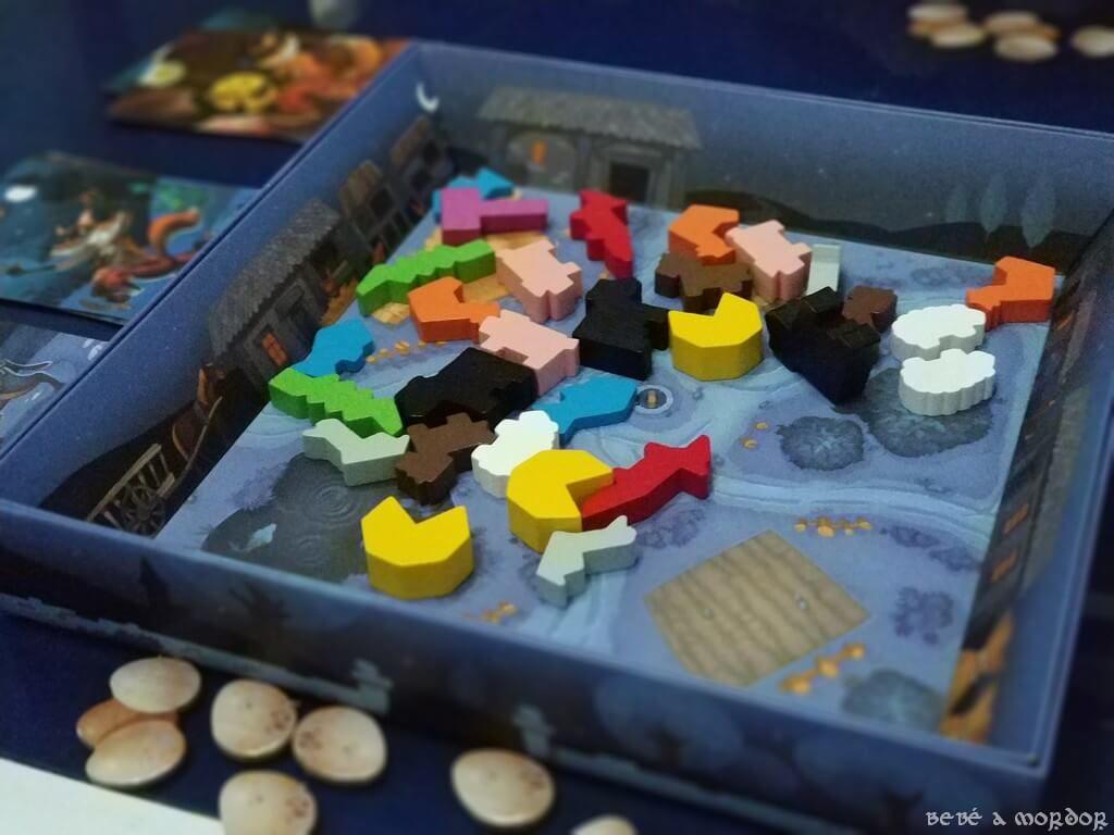 juego de mesa Zorros al Corral de SD