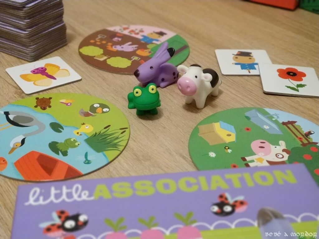JUEGO de mesa Little Association Djeco