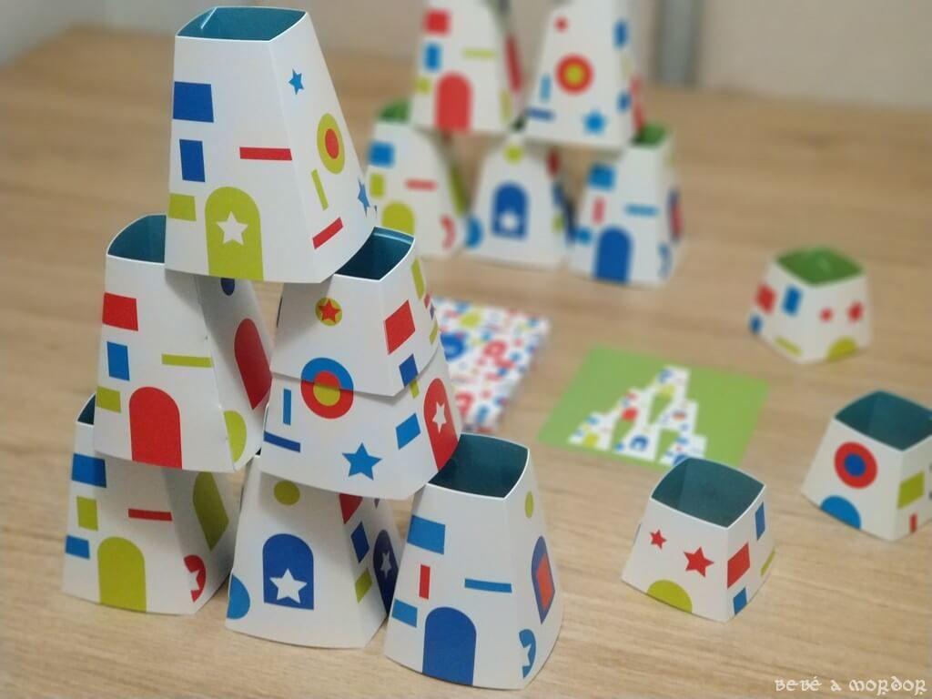 juego de mesa Archi Chato Djeco velocidad y construcción