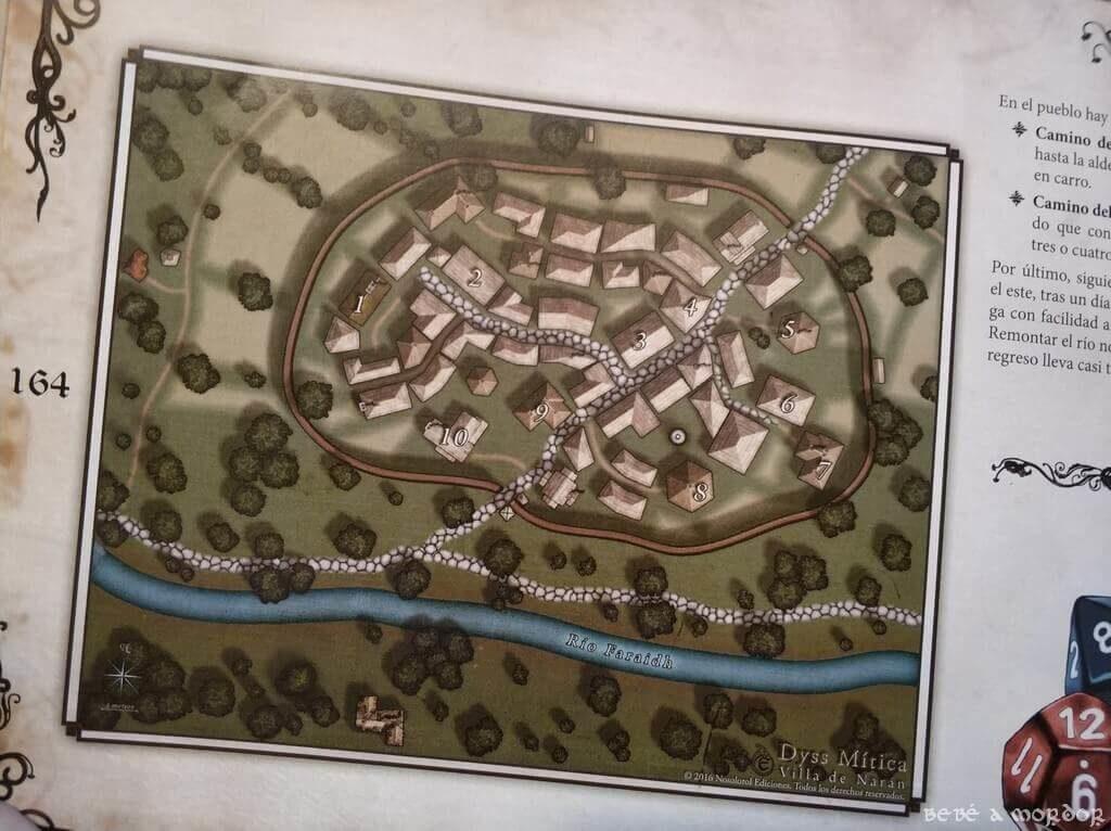 la famosa villa de Narán de Magissa rol para niños