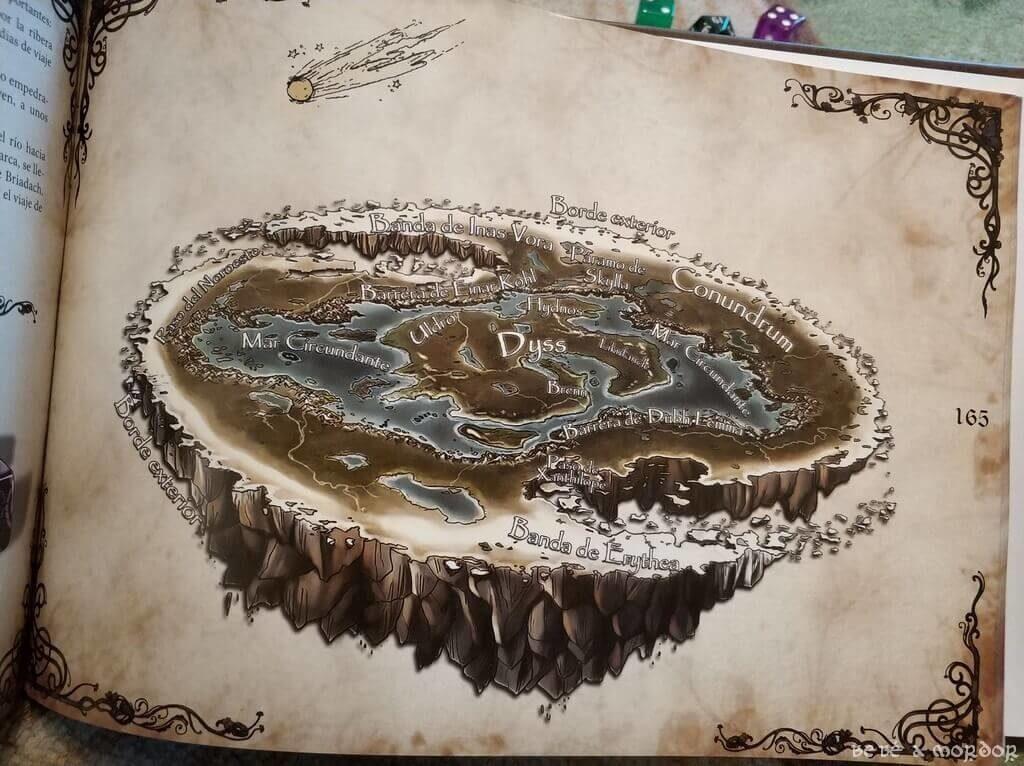 imagen del mundo Dyss juego de rol Magissa de Edanna