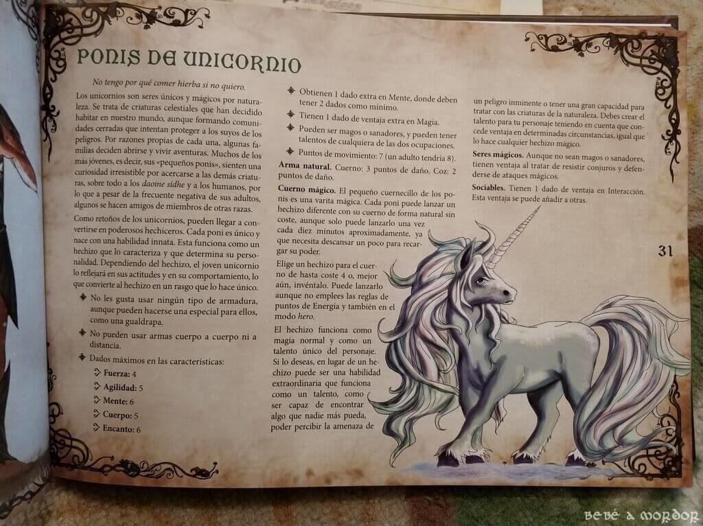 raza poni de unicornio Magissa