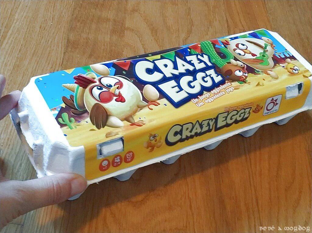 juego party 7 años Crazy Eggz
