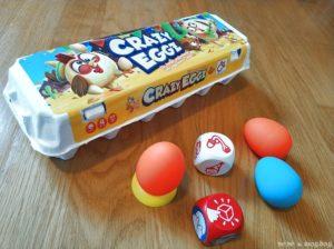 juego de mesa Crazy Eggz packaging