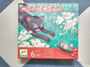 portada juego de mesa Chop Chop de Djeco