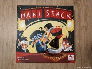 portada caja juego de mesa Maki Stack