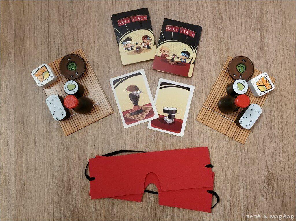 componentes Maki Stack y máscaras