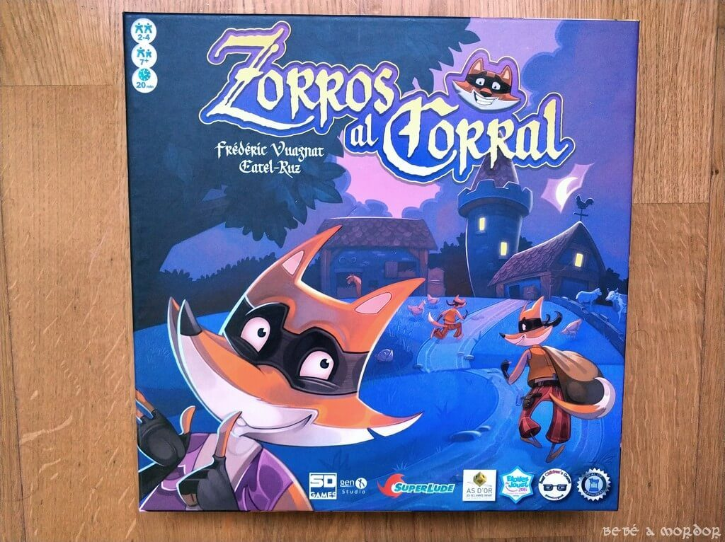 caja Zorros al Corral