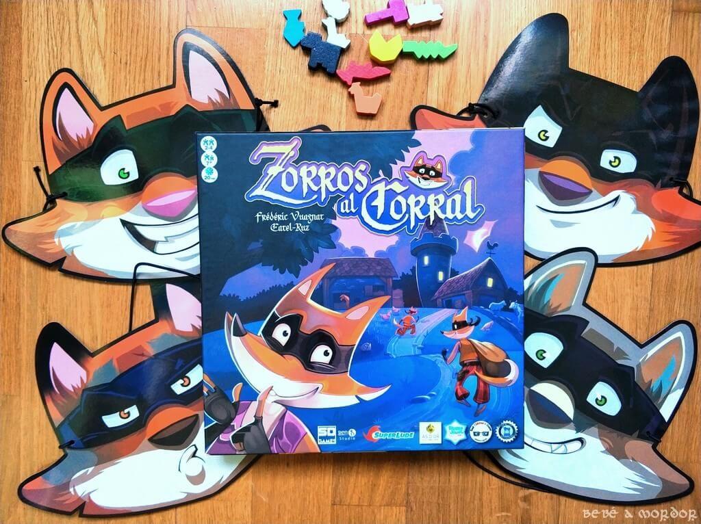 máscara de Zorros al Corral